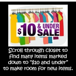 Tops - I HAVE OVER 40 ITEMS UNDER $10!!🔥🔥❤